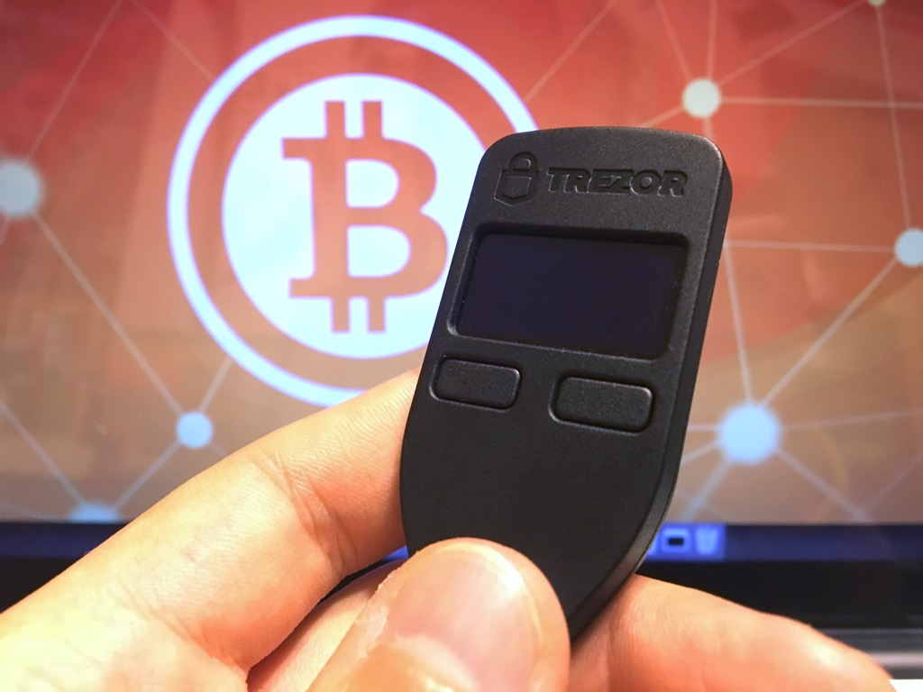 Bitcoin Trezor - the first hardware wallet